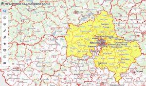 Кадастровые карты областей