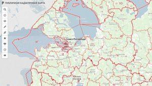 Официальный сайт кадастровой карты