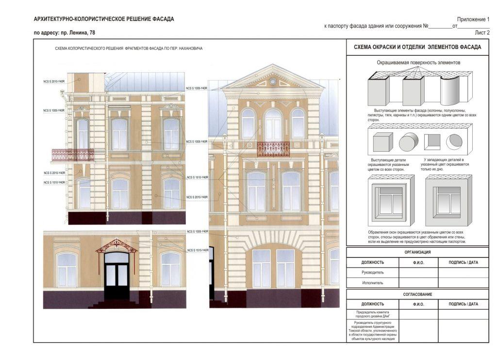 Проект реконструкции фасадов