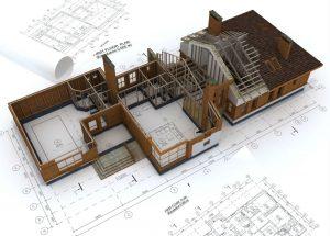 Раздел здания на помещения