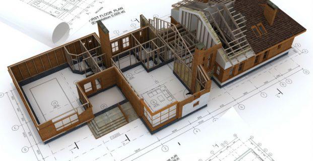 Раздел здания на помещения (2019)