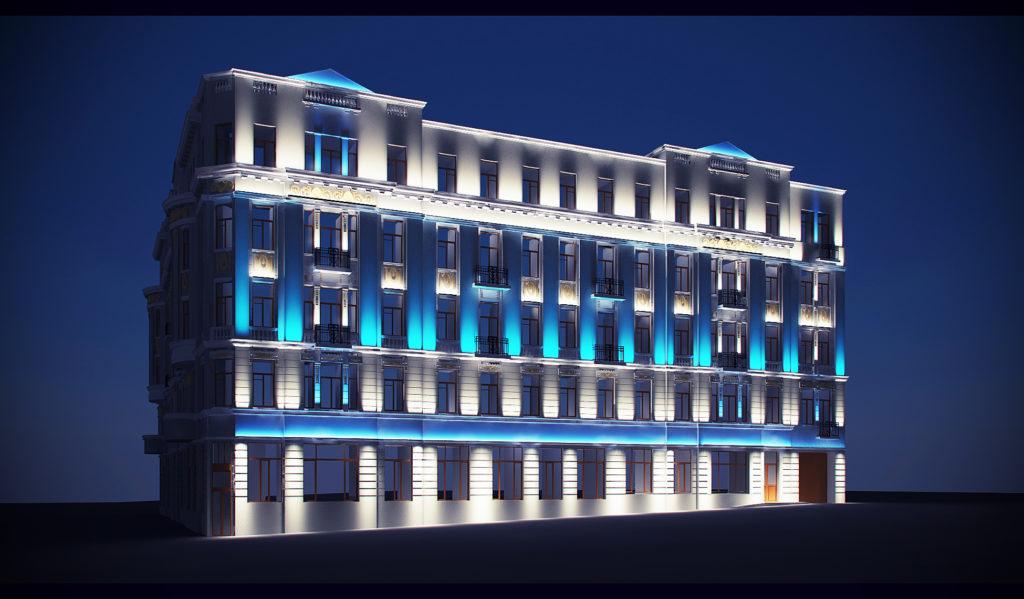 Проект освещения