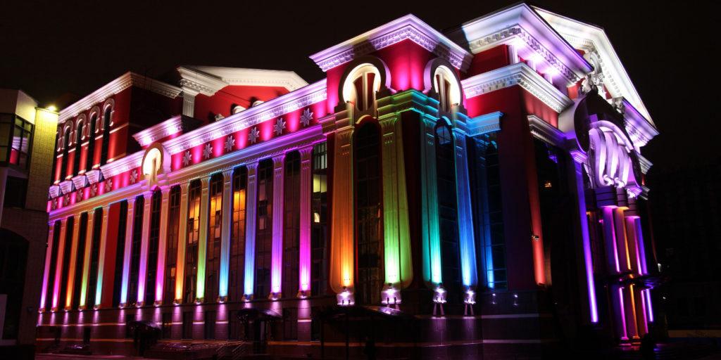 Проект освещения здания
