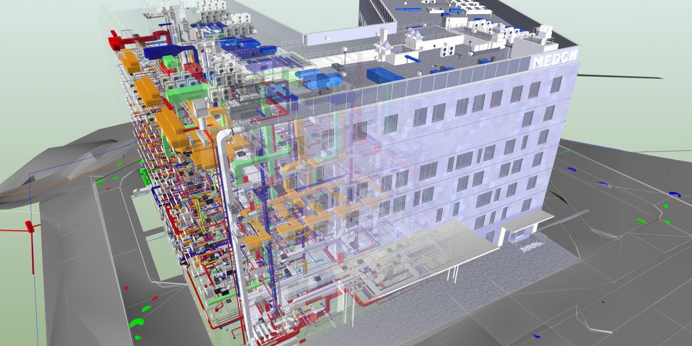 На стадии проектирования есть возможность увидеть будущее здание. Для этого готовится 3d визуализации.