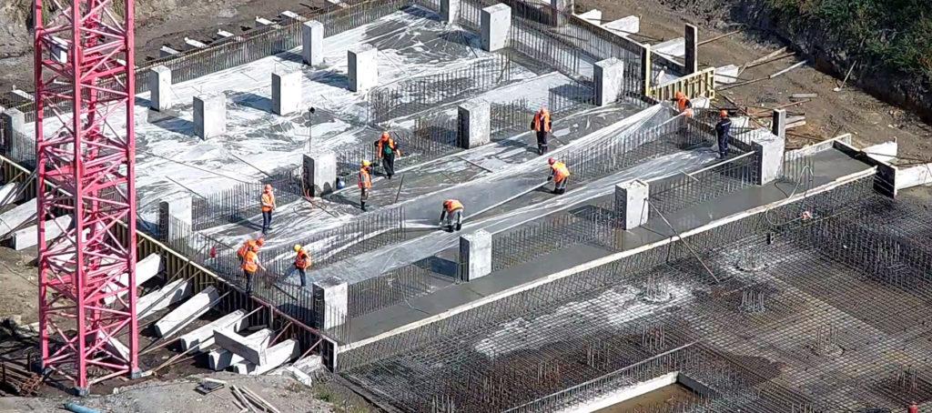 На основе железобетонных и бетонных конструкций проектируются основания, фундаменты, перекрытия и другие элементы здания