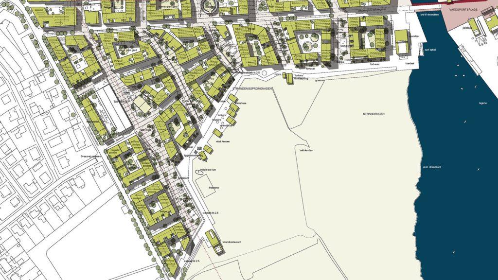 Градостроительное проектирование может осуществляться в отношении целого города или отдельных районов