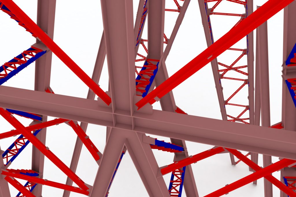 По чертежам КМД можно построить модель всех конструкций и их соединений