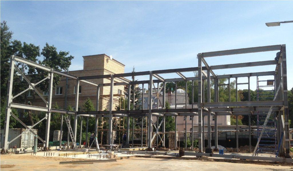 КМ и КМД являются основными конструкциями для многих типов зданий