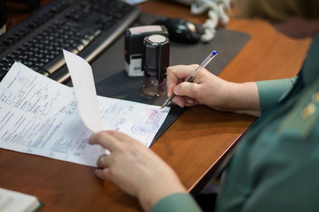 Отказное письмо выдается без испытаний продукции. а по представленным документам
