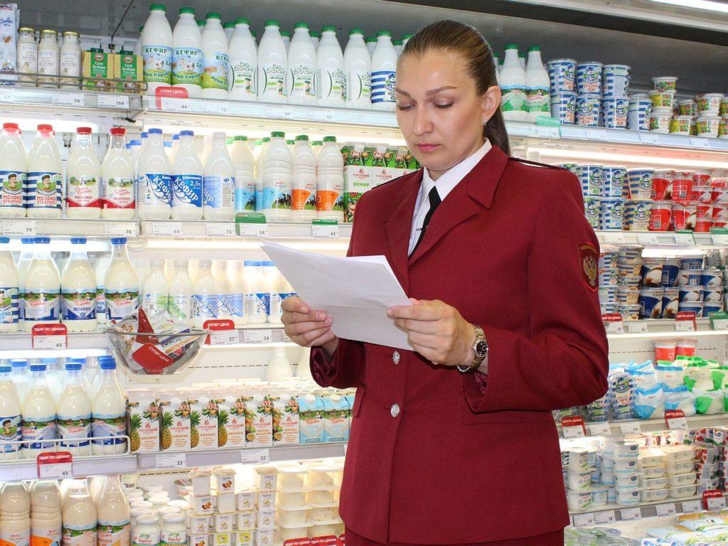 Проверять наличие деклараций ГОСТ на продукцию могут специалисты Роспотребнадзора