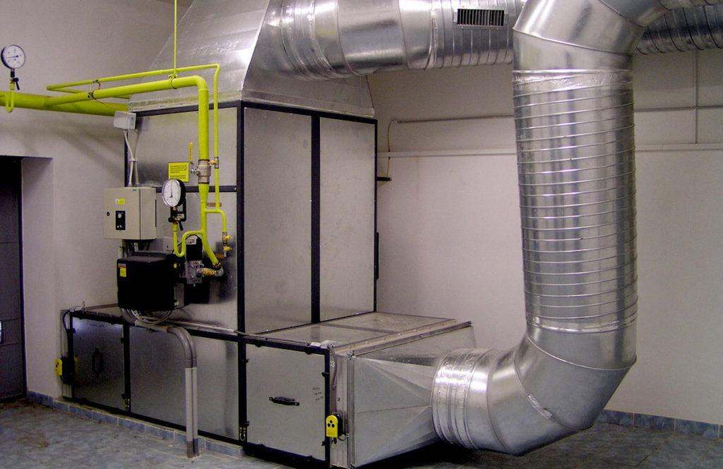 Вспомогательные помещения предназначены для обслуживания здания, удовлетворения нужд жильцов, персонала. посетителей. На данном примере вспомогательное помещение используется для размещения технического оборудования.