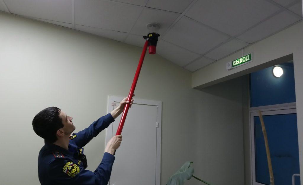 Специалисты МЧС будут проверять работоспособность системы сигнализации в ходе плановых или внеочередных аудитов.