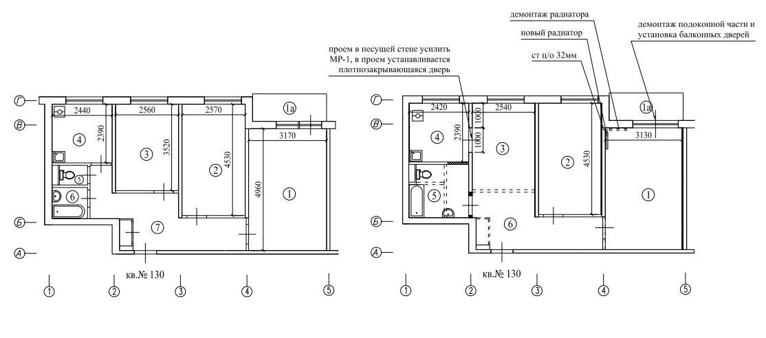 Суть перепланировки заключается в изменении конфигурации и характеристик помещений МКД. Все изменения должны соответствовать 508-ПП.