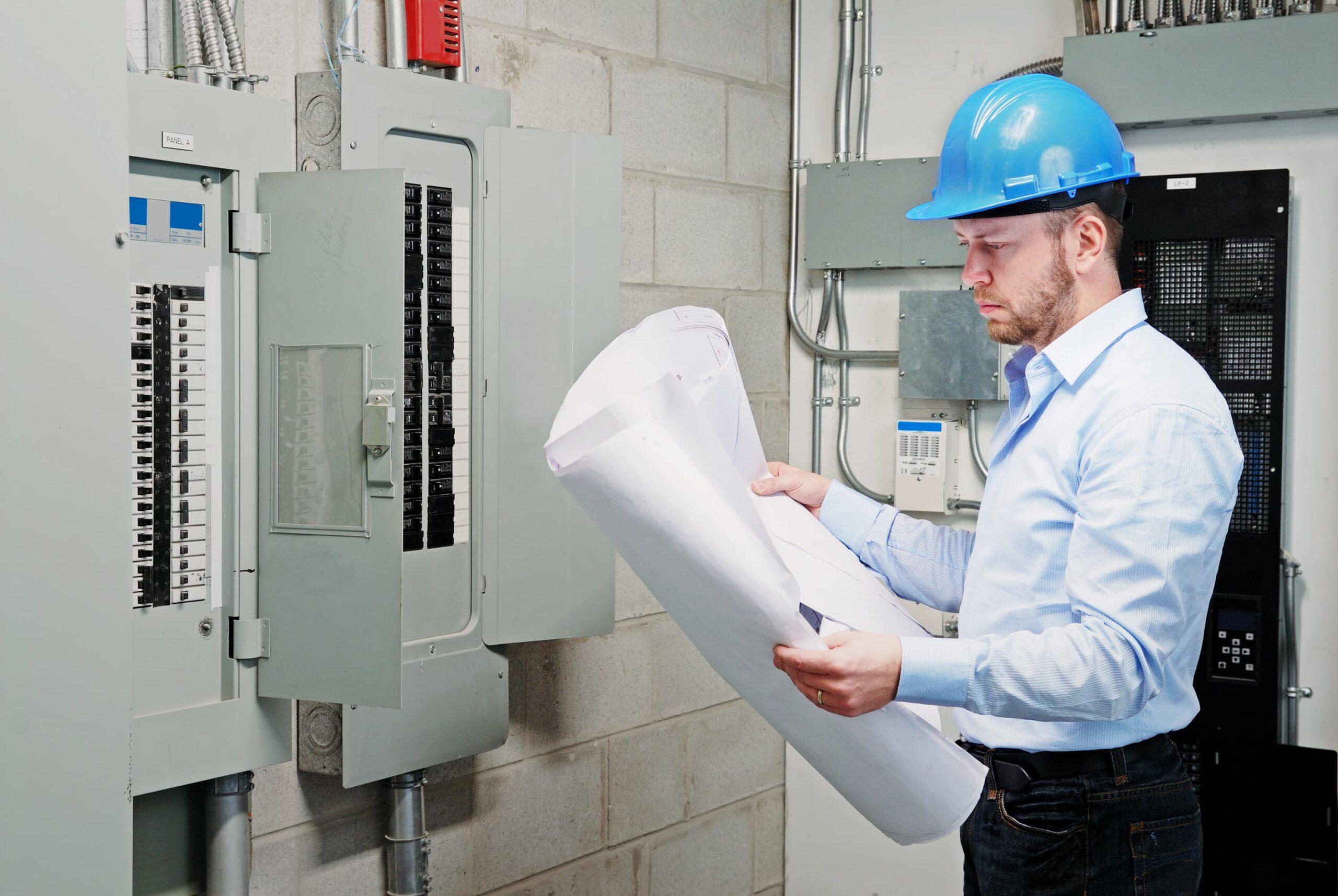 До начала проектирования проводится обследование объекта, действующих систем защиты.