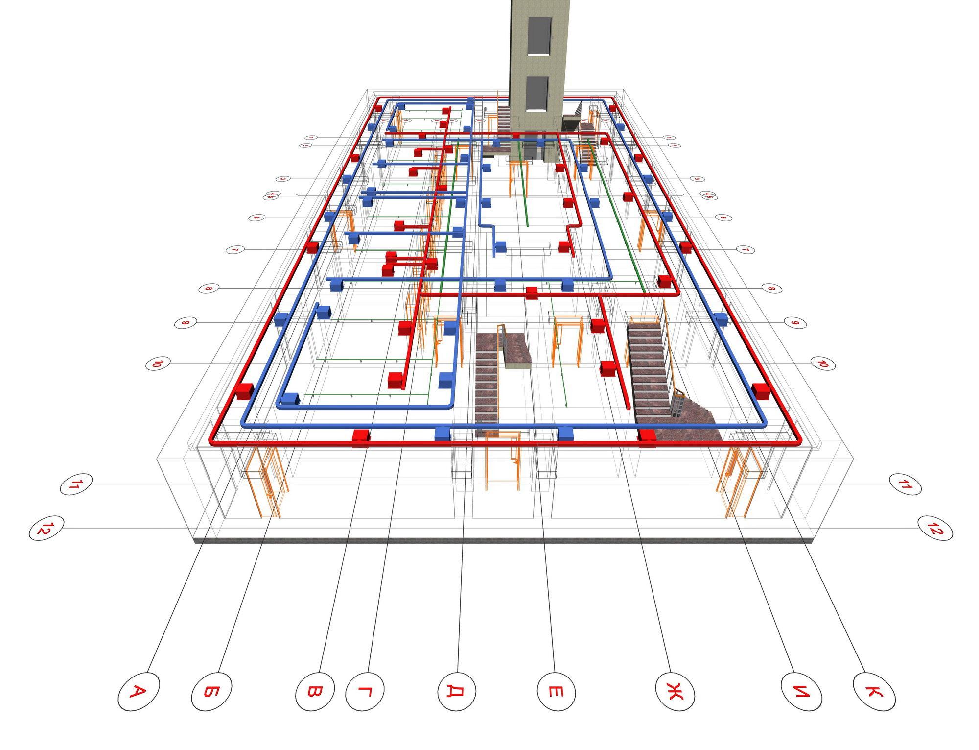 При проектировании можно сделать моделирование, чтобы увидеть особенности эксплуатации будущей системы защиты.