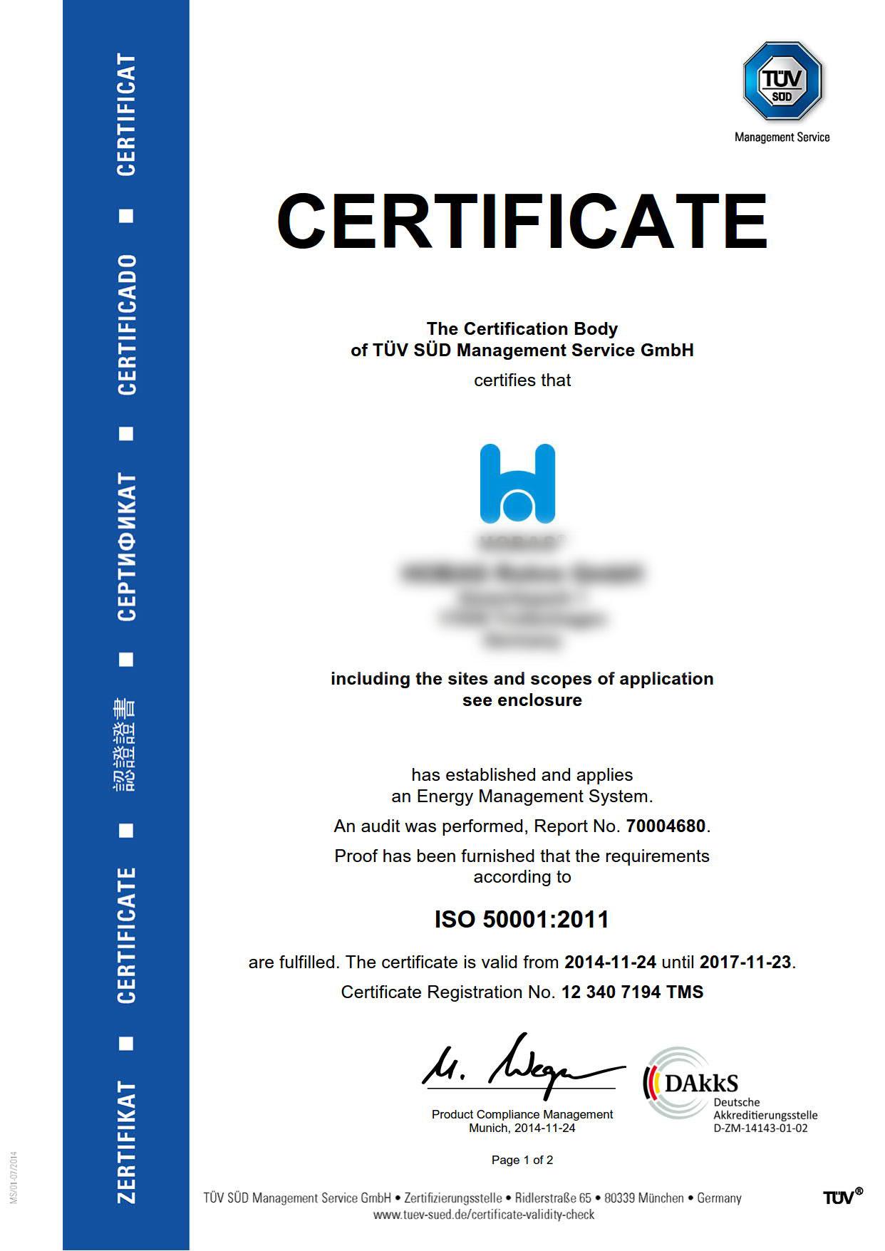 Сертификат ИСО 50001 можно применять при сотрудничестве с иностранными партнерами, так как он признается большинством стран мира.